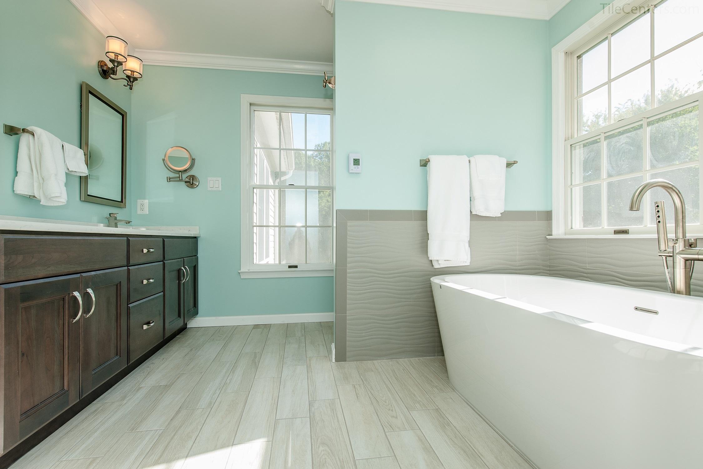Transitional Bathroom Remodel Rockville Md