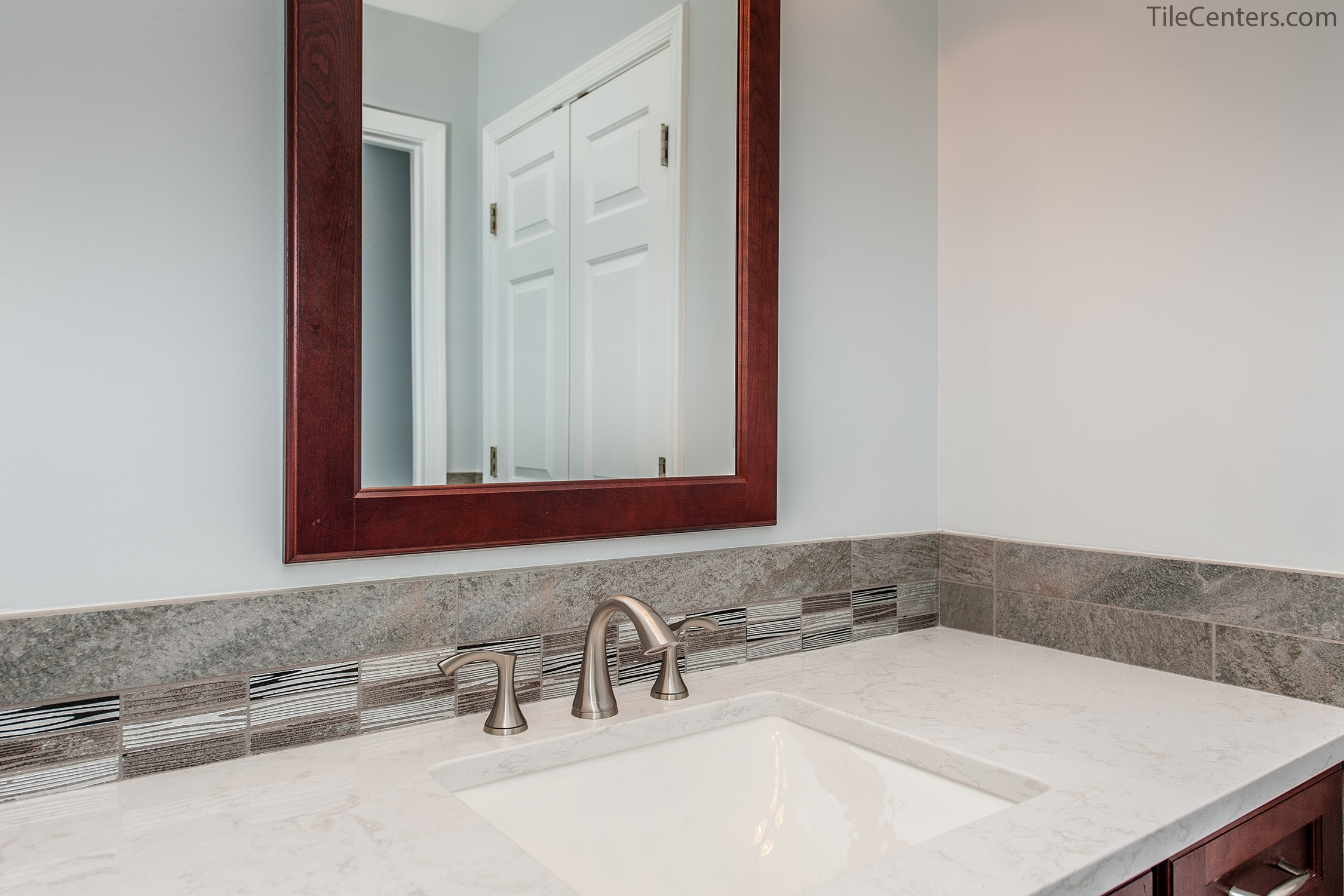 Bathroom - Downland Terrace, Olney, MD 20832: Tile Center ...