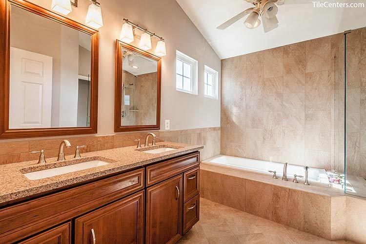 Traditional Master Bathroom Remodel