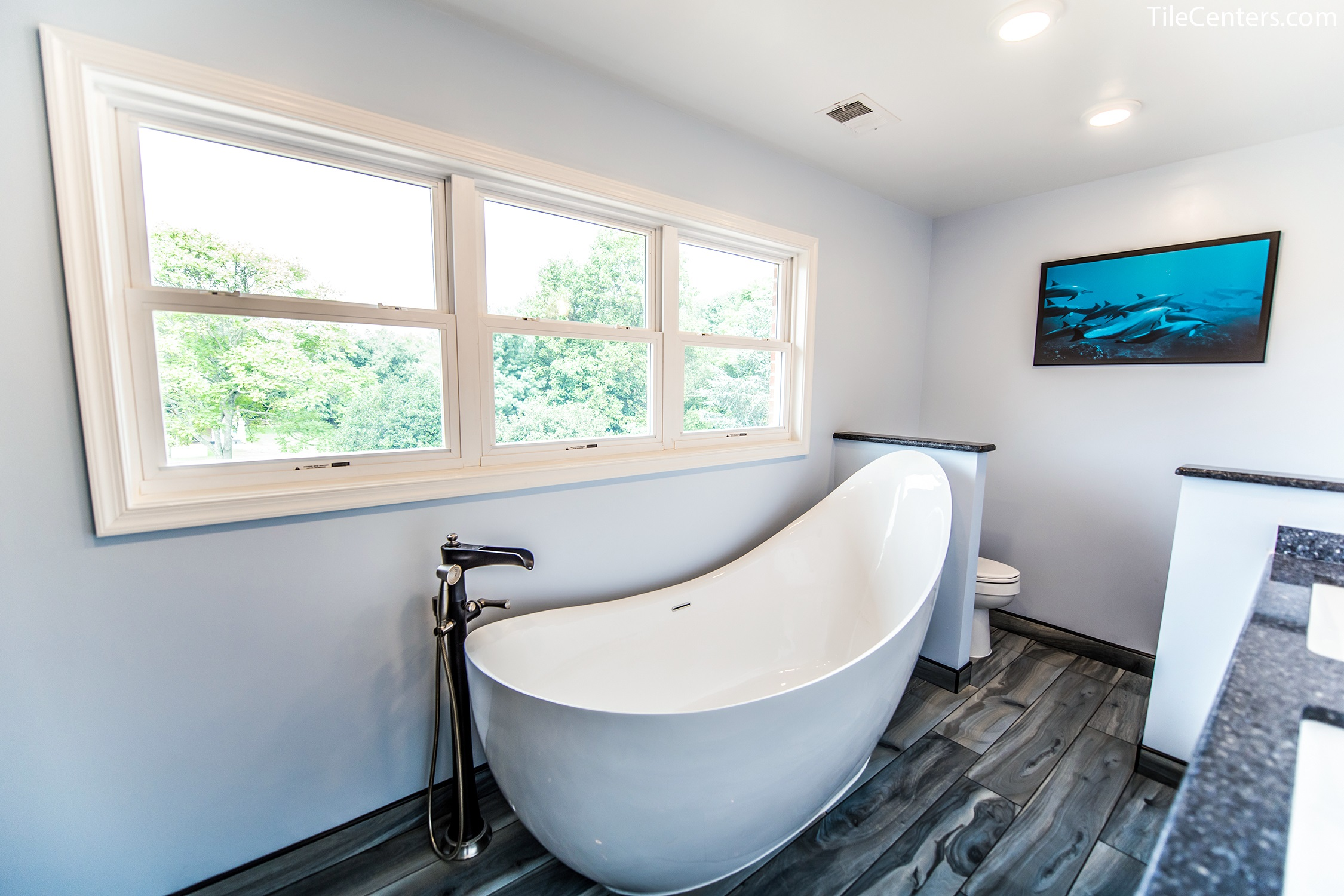 Bathroom - Wild Flower Ct, Rockville, MD 20855: Tile Center ...