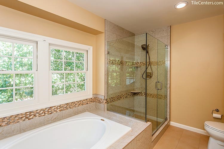 Glass Standing Shower Door
