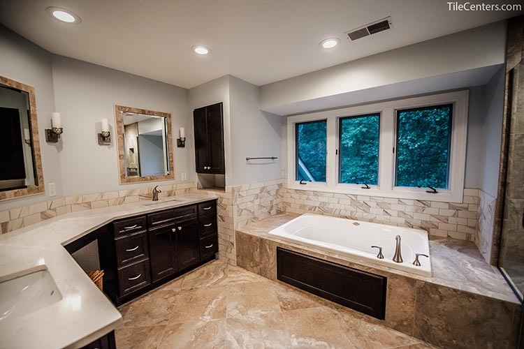 A Greco Roman Bathroom design - Gaithersburg, MD 20882