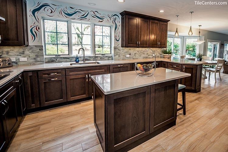 Kitchen Farcroft Lane Gaithersburg Md 20882 Tile