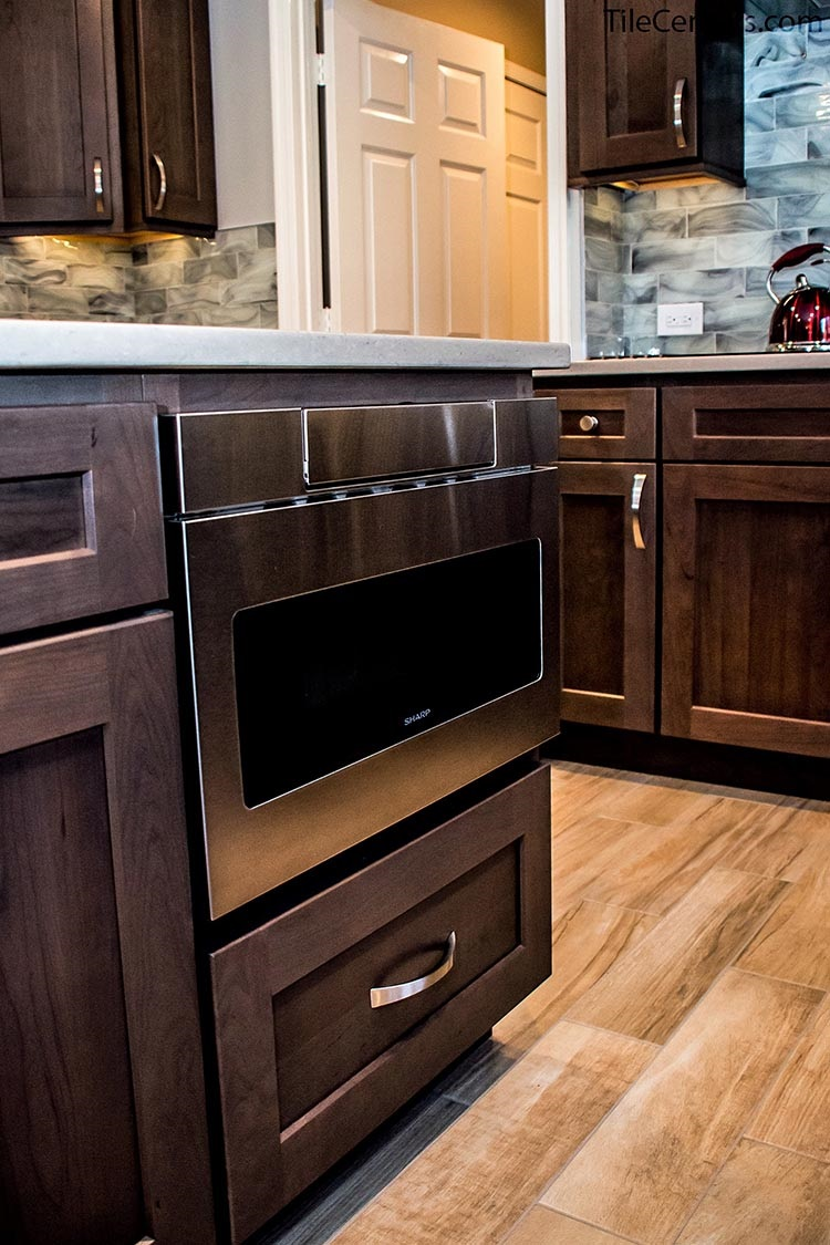 Hidden Kitchen Appliance with Cabinets