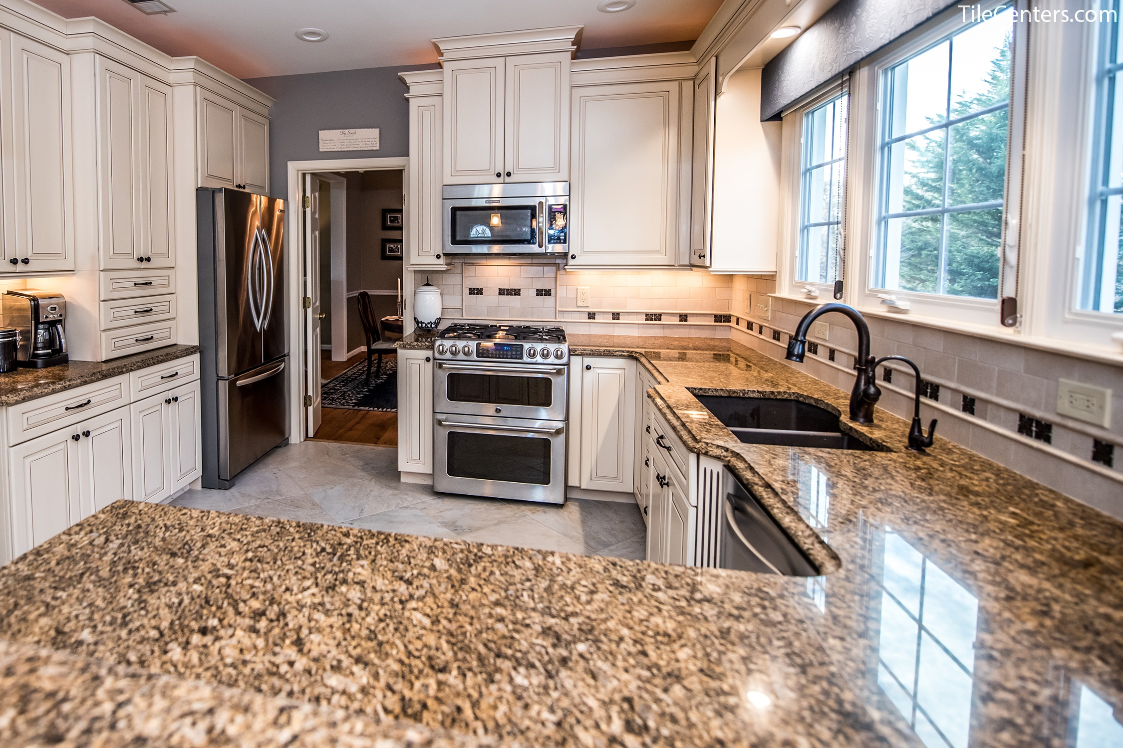 Kitchen Morning Star Drive Germantown Md 20876 Tile