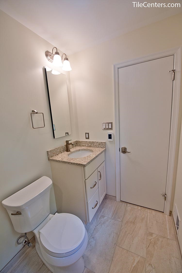 Beige bathroom vanity - Brookeville, MD 20833