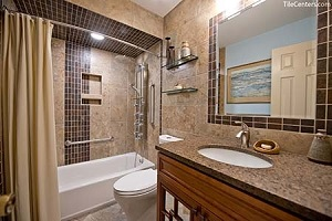 Powder Bathroom - Farcroft Terrace, Gaithersburg, MD 20882