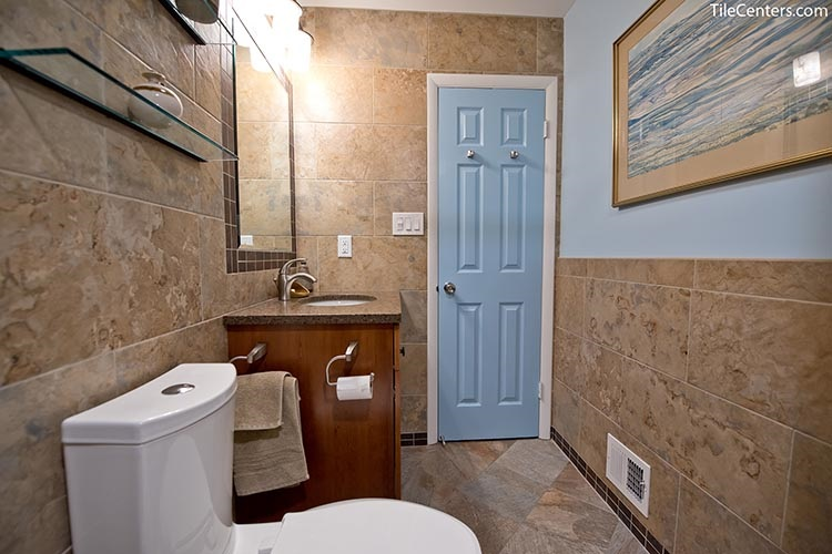 Transitional Bathroom Remodeling