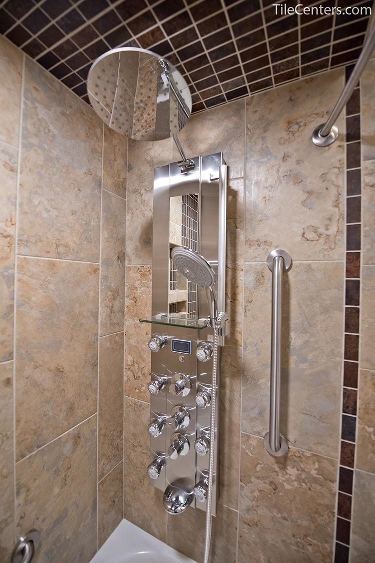 Full Chrome Shower Faucet