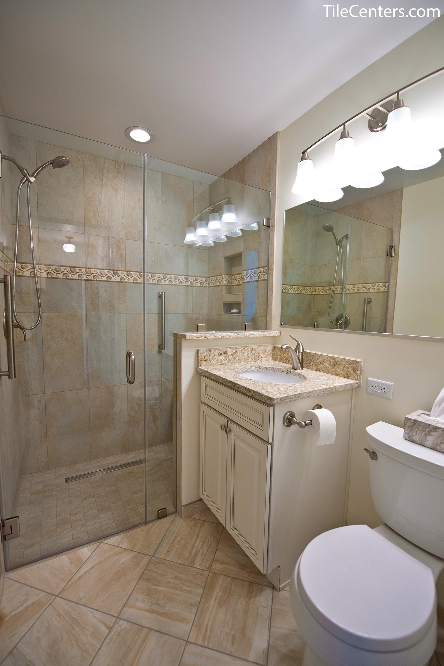 Bathroom Remodel Wye Oak Dr Gaithersburg Md 20878