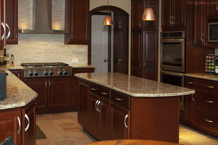 Traditional Kitchen Remodel Countertops