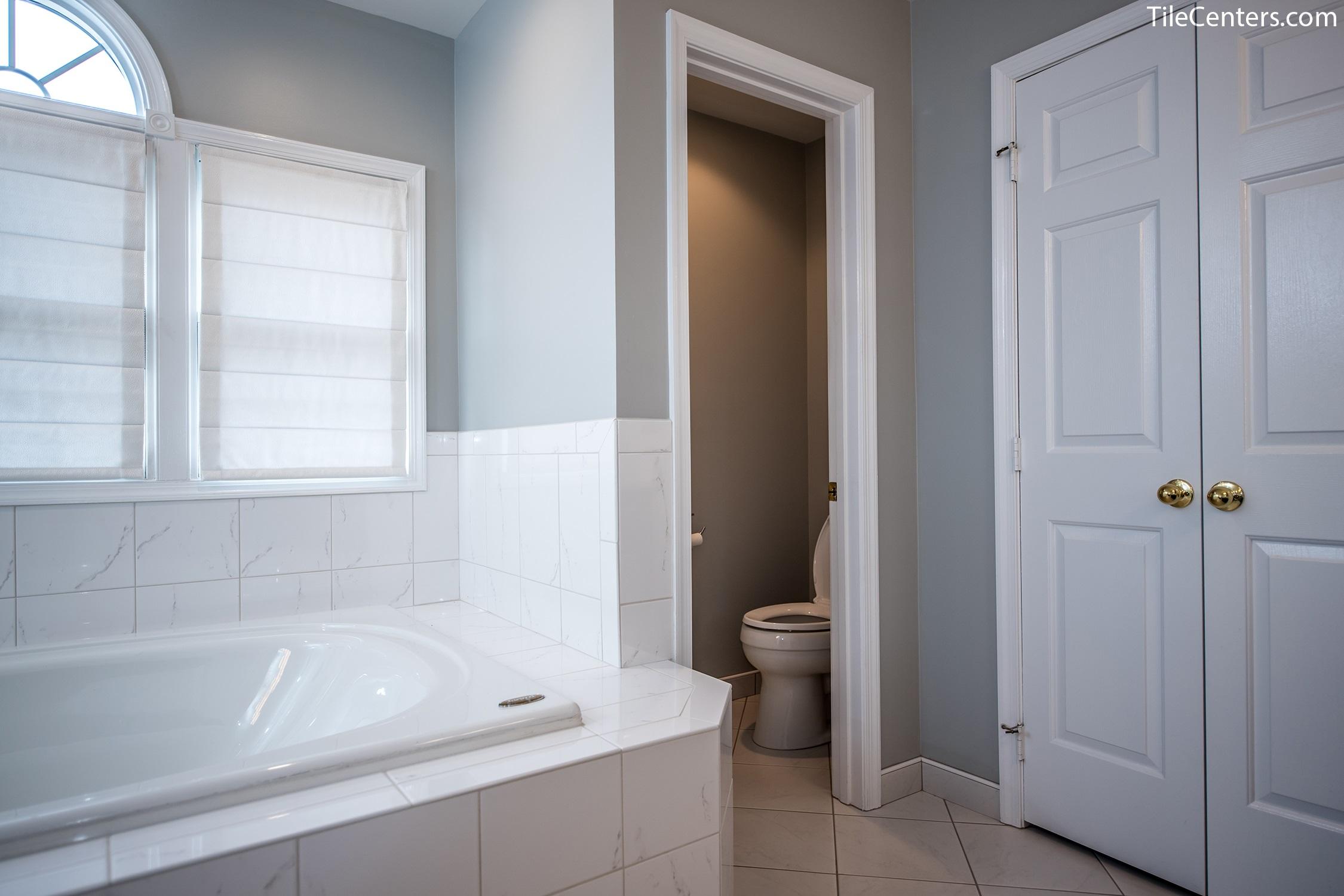 Bathroom - Little Tree Ct, Rockville, MD 20850: Tile Center ...