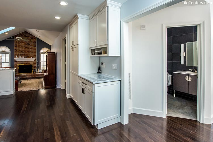 Hardwood Floors Kitchen Installation