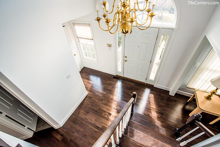 Brazilian Cherry Foyer Hardwood Flooring