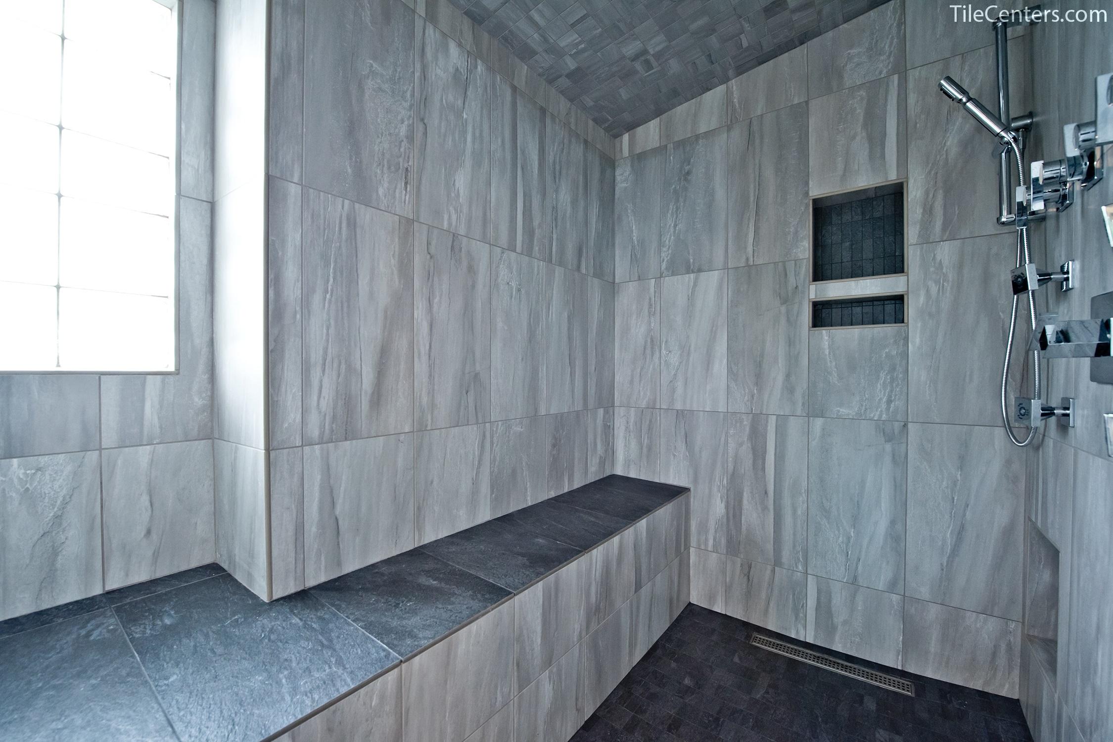 Bathroom - Aubinoe Farm Dr, Bethesda, MD 20814: Tile Center ...