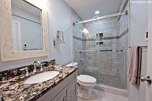 Powder Bathroom - Meadowvale Terrace, Gaithersburg, MD 20882