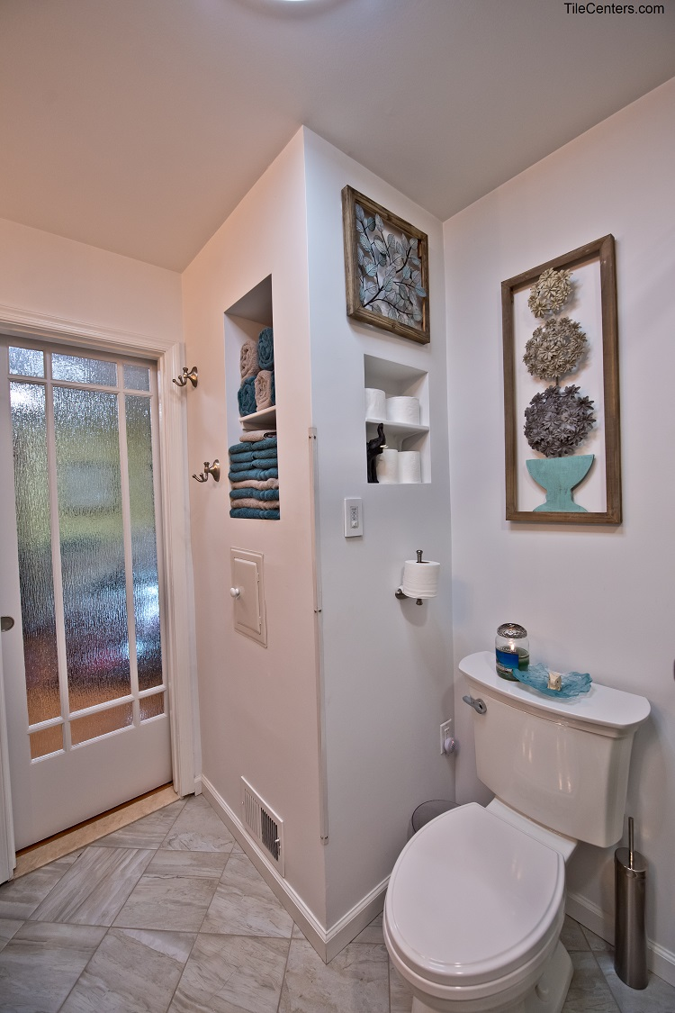 Bathroom Remodel with Toilet