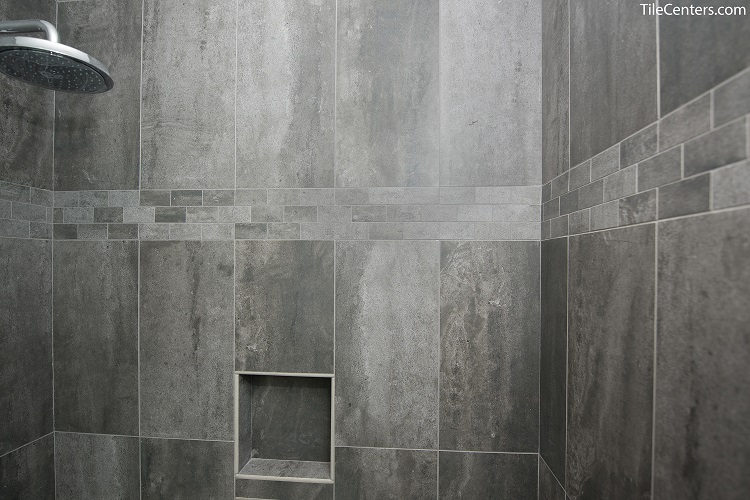 Grey Standing Shower
