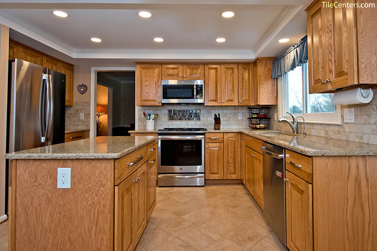 Natural Kitchen Cabinets