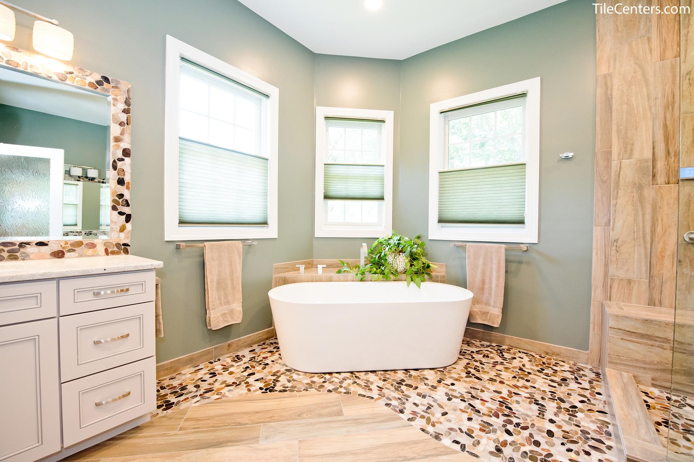 Natural Master Bathroom Remodel - Gallery & Design Ideas on Master Bathroom Remodel Ideas  id=94415