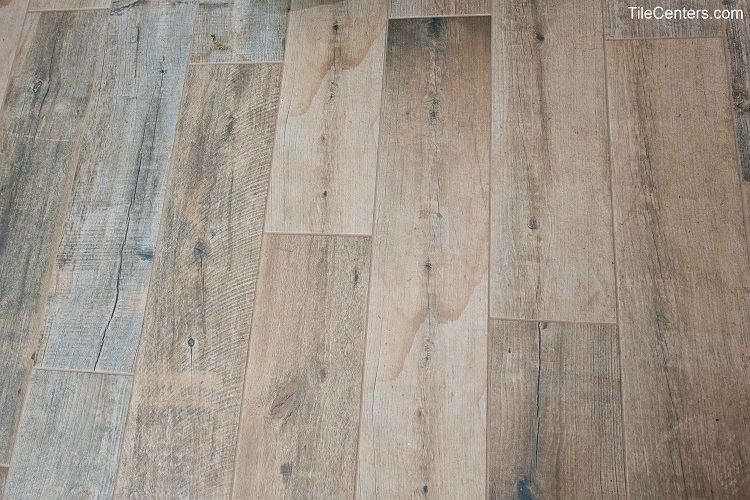 Wood Look Tile flooring installation - Silver Spring, MD 20910