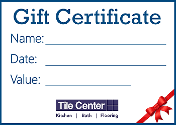 Gift Certificates for Special Events