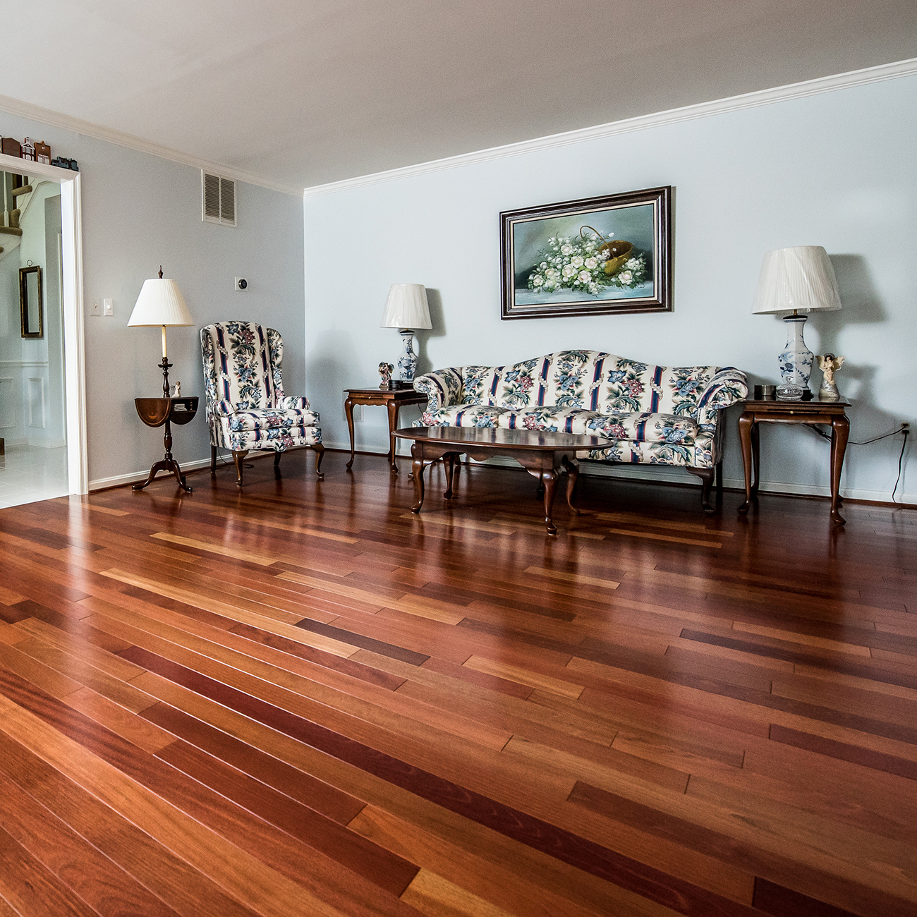 Where to install hardwood floors
