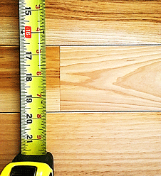 Hardwood floors sizes