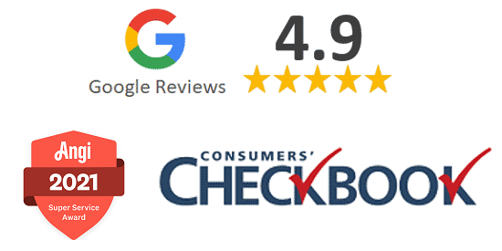 Read Google Reviews, Angie's Lists, Checkbook Magazine and more.