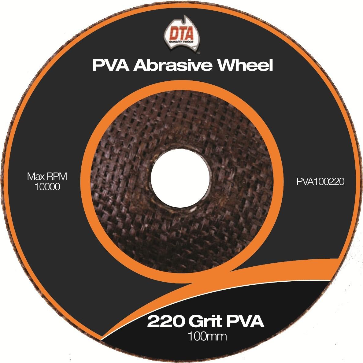 Dta Pva 4 Quot Abrasive Wheel 220 Grit Aladdin Outlet