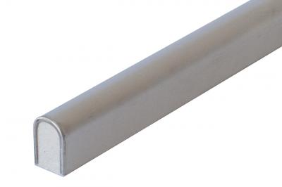 Brushed Stainless Steel Bullnose Liner